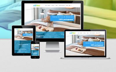 O nosso novo website